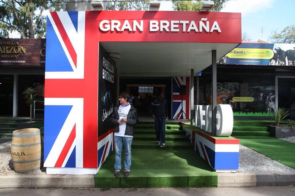Expo 2015 Stand Enel : Gran bretaña en expo prado con ciclo de conferencias sobre