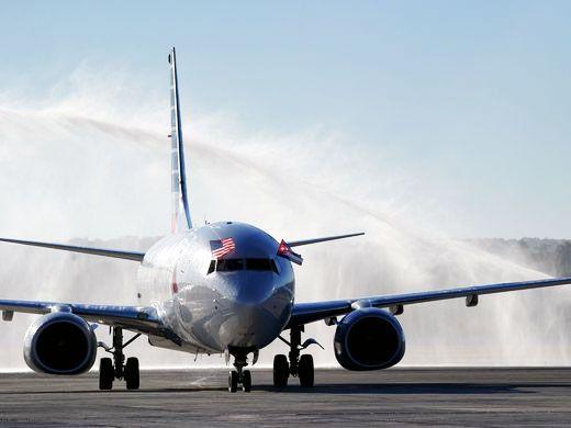 American Airlines inaugura primer vuelo directo a La Habana desde EE.UU