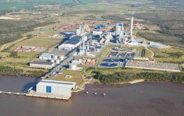 La planta de UPM en Fray Bentos, la primera en Uruguay, que ha consolidado la confianza de finlandeses en el país