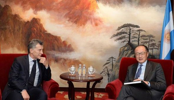 Macri recibe al presidente del Banco Mundial