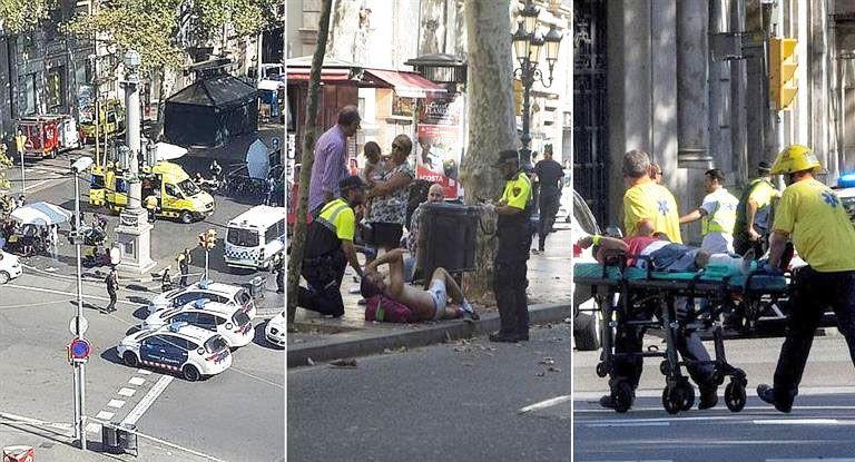 ISIS se adjudica ataque terrorista en Barcelona