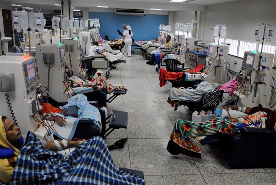 Seis muertos en Venezuela por falta de diálisis