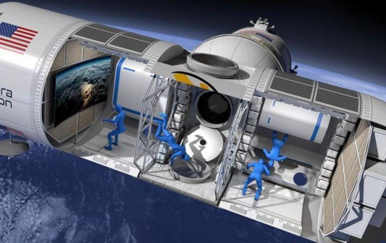 Orion Span Inc., en Houston, espera lanzar la estación modular a fines de 2021 y recibir a sus primeros huéspedes el año siguiente