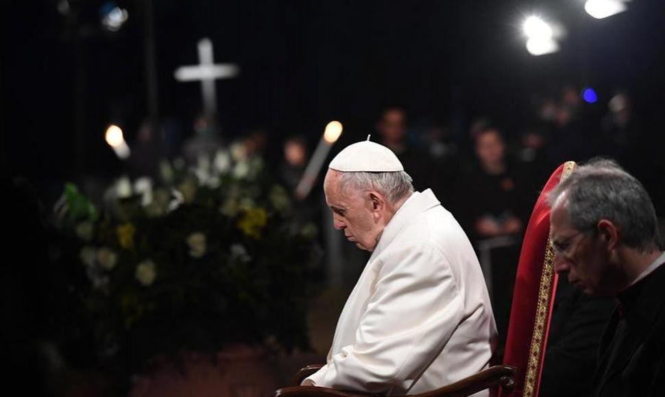 Papa Francisco recibió a víctimas de Karadima en su casa del Vaticano
