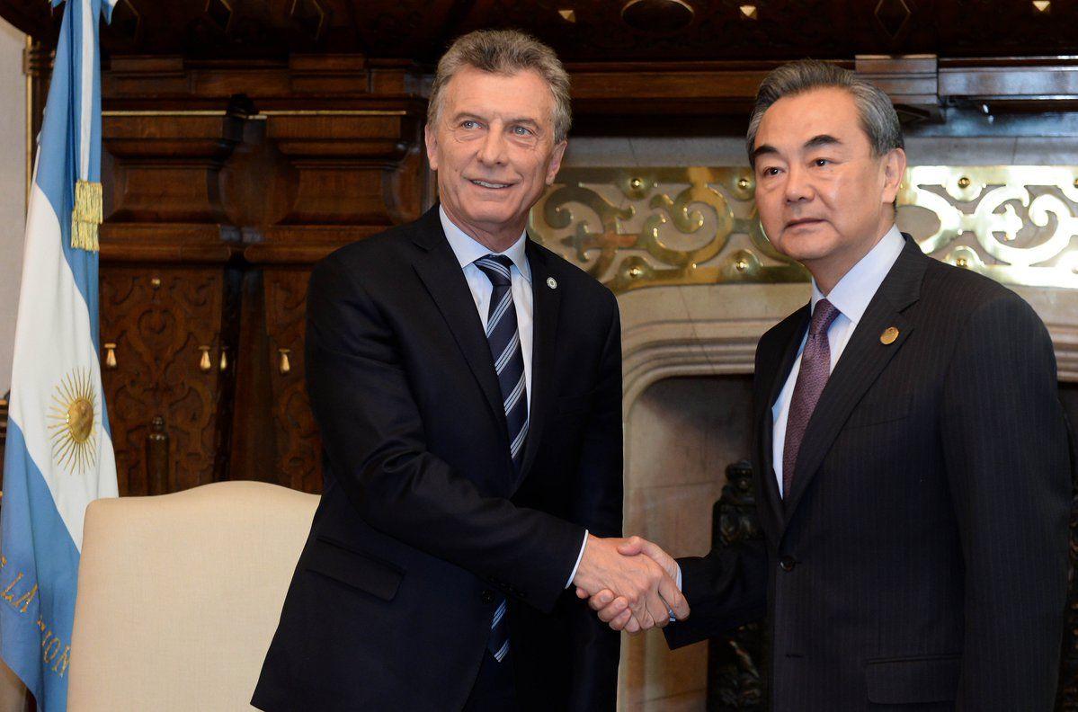 Resultado de imagen para Macri con Wang YI