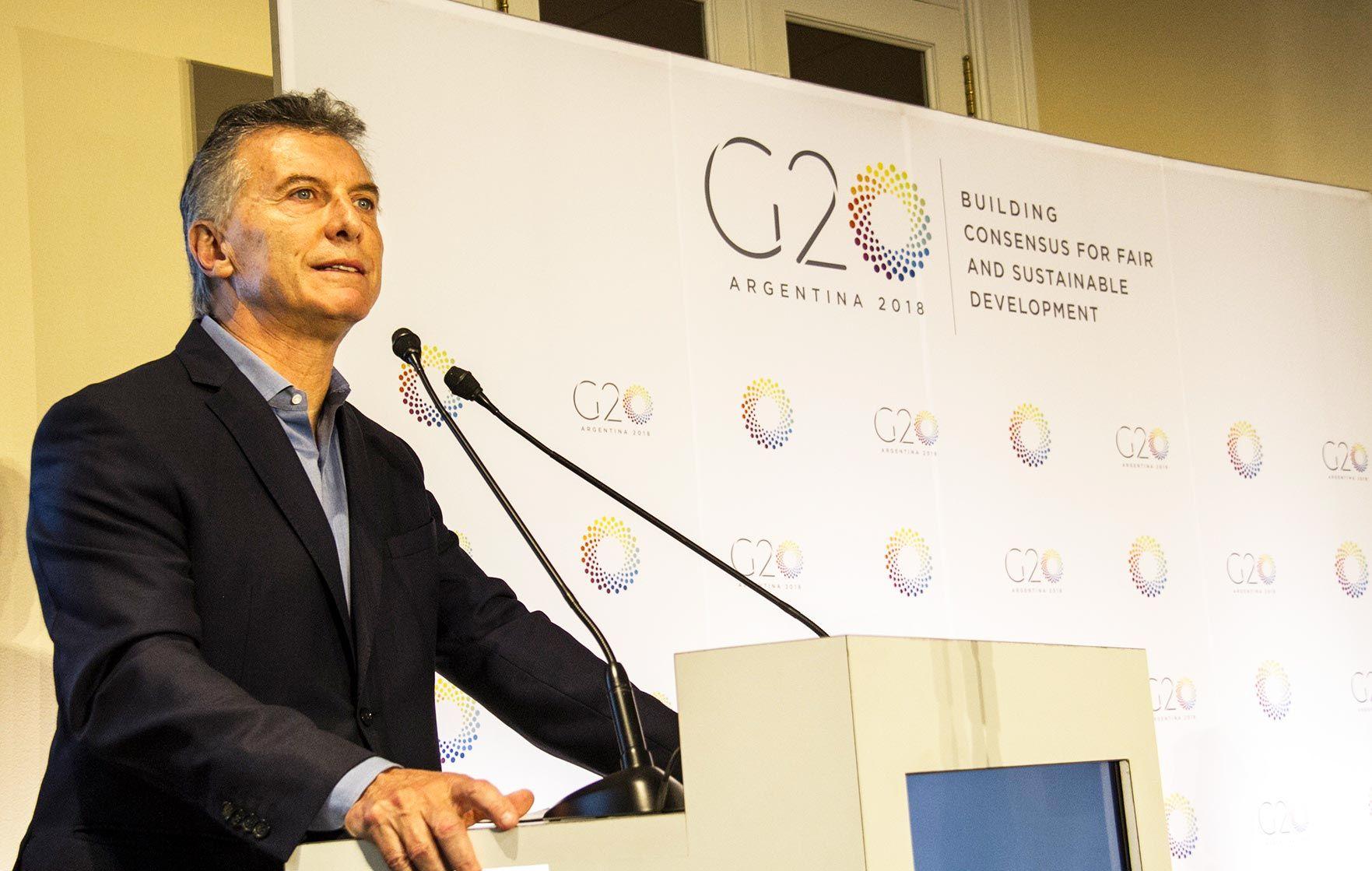 Resultado de imagen para macri G20