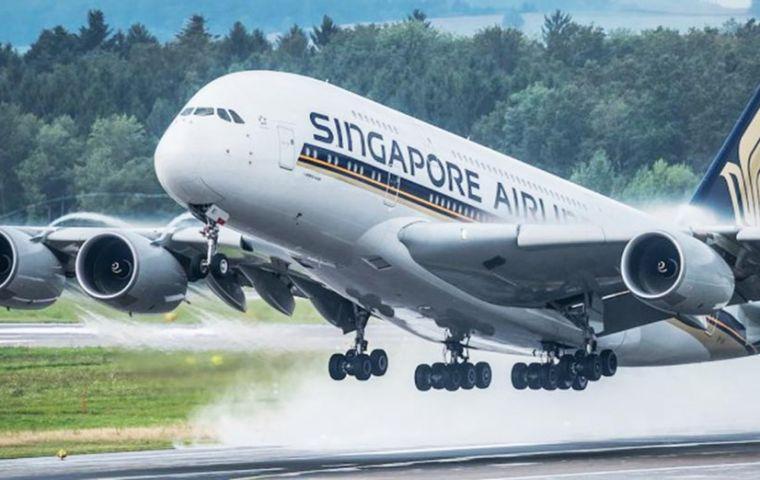 """""""Un factor clave para los clientes es la consistencia, un activo real para Singapore Airlines que obtuvo una alta calificación tanto en producto como en servicio""""."""
