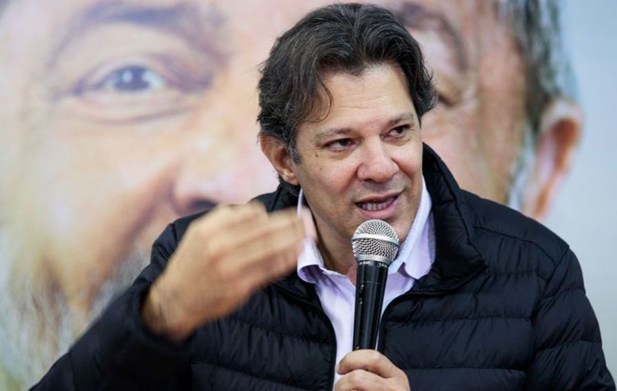Image result for Fernando Haddad, exprimer ministro del presidente Lula