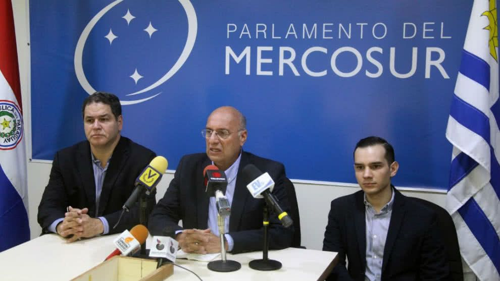 Parlasur rechazó persecución política en contra de Williams Dávila