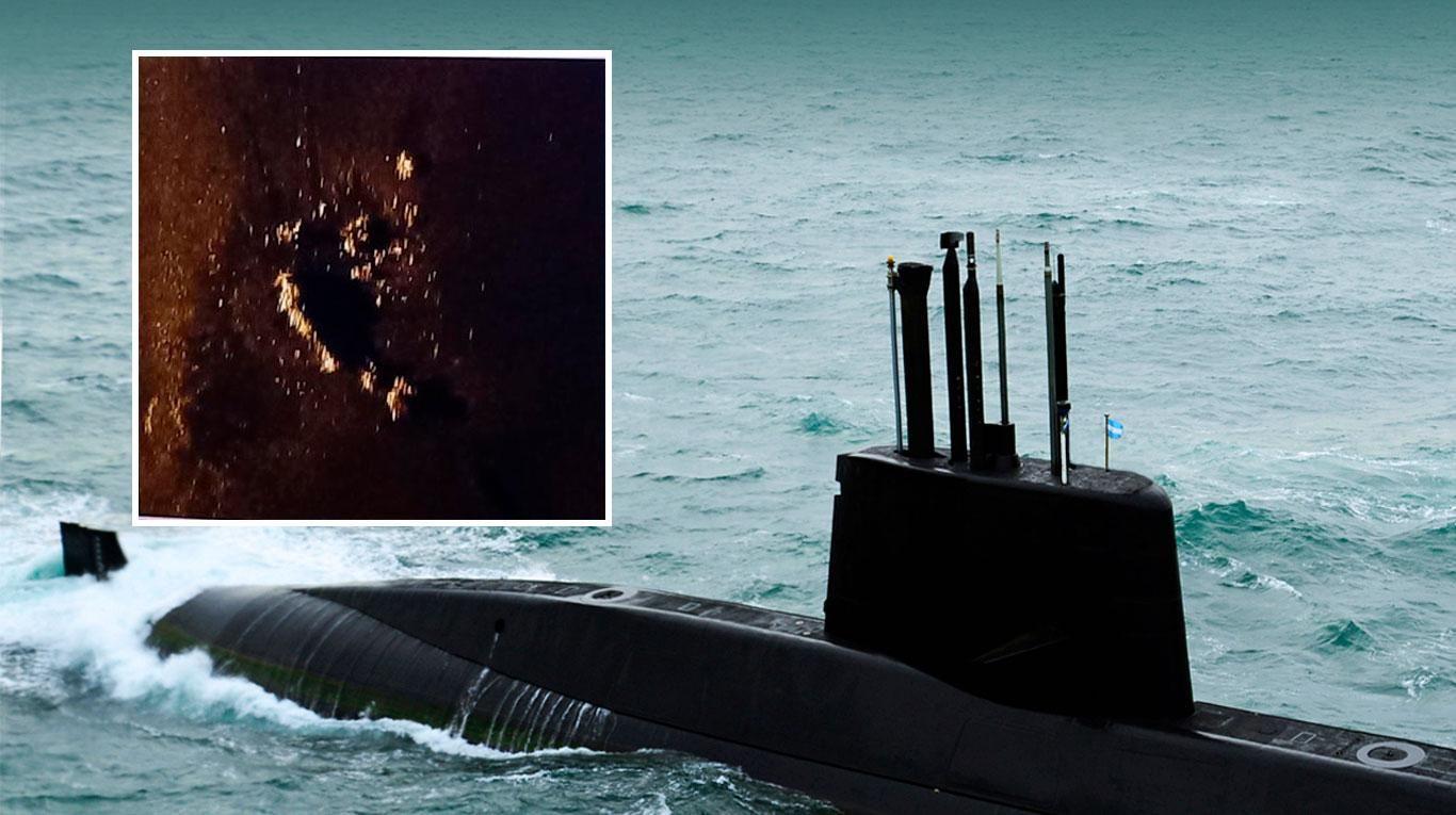 Resultado de imagen para submarino San Juan