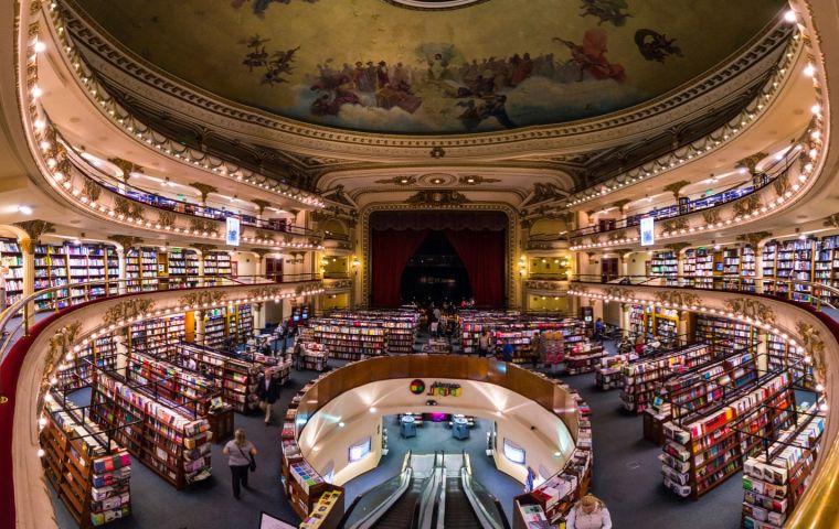 La librería Ateneo Grand Splendid de Buenos Aires, 'la más linda del mundo'