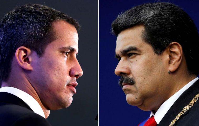Guaidó justifica su estrategia de diálogo con el gobierno de Maduro