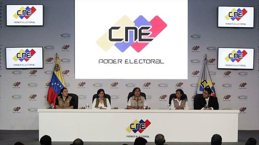 Principio de acuerdo para la reforma del CNE — Venezuela
