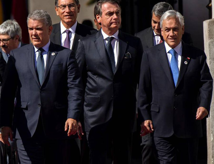 Cuatro presidentes y el Rey español a la asunción de Lacalle Pou en Uruguay — MercoPress