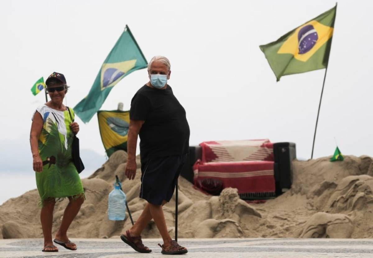 Coronavirus: la cifra de muertos en Brasil se amplió a 11
