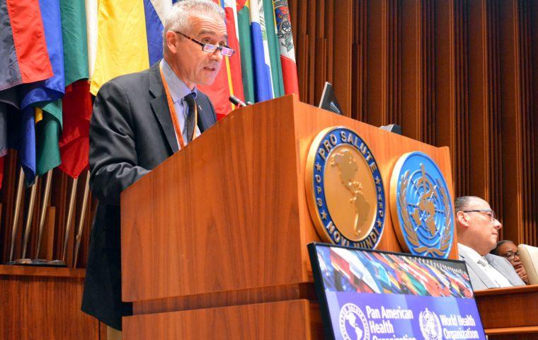 América Latina aún está lejos de la inmunidad colectiva, advirtió Aldighieri